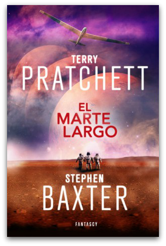 cubierta-libro-el-marte-largo-de-terry-pratchett-y-stephen-baxter-fantascy