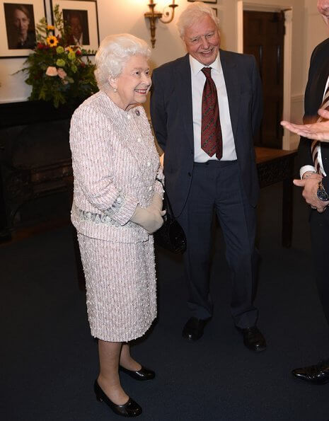 Queen Elizabeth II presented the Chatham House Prize 2019 to Sir David Attenborough and Julian Hector