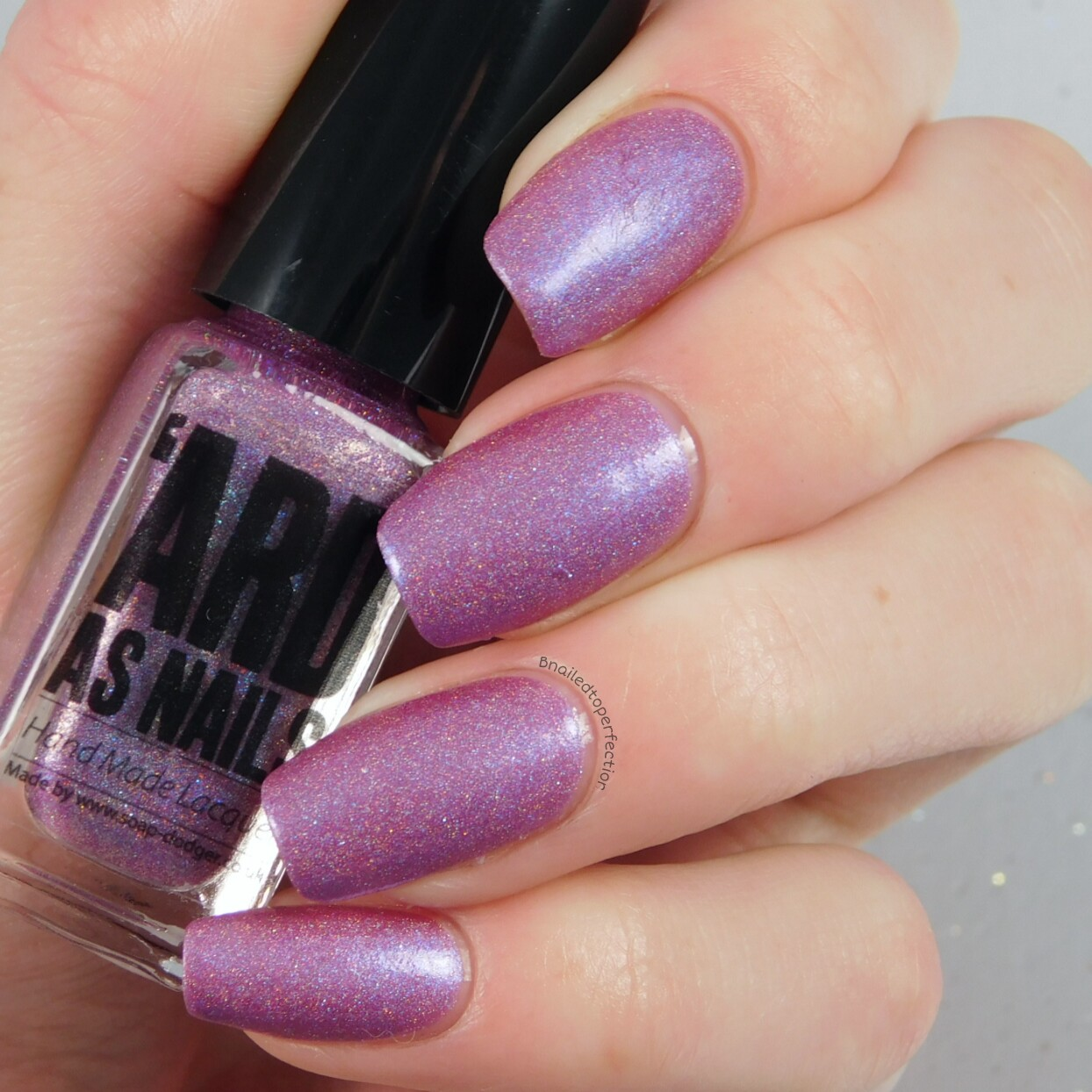 B Nailed To Perfection: \'Ard As Nails #Hashtag collection - swatches ...