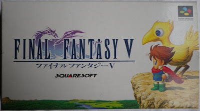 Final Fantasy V - Caja delante