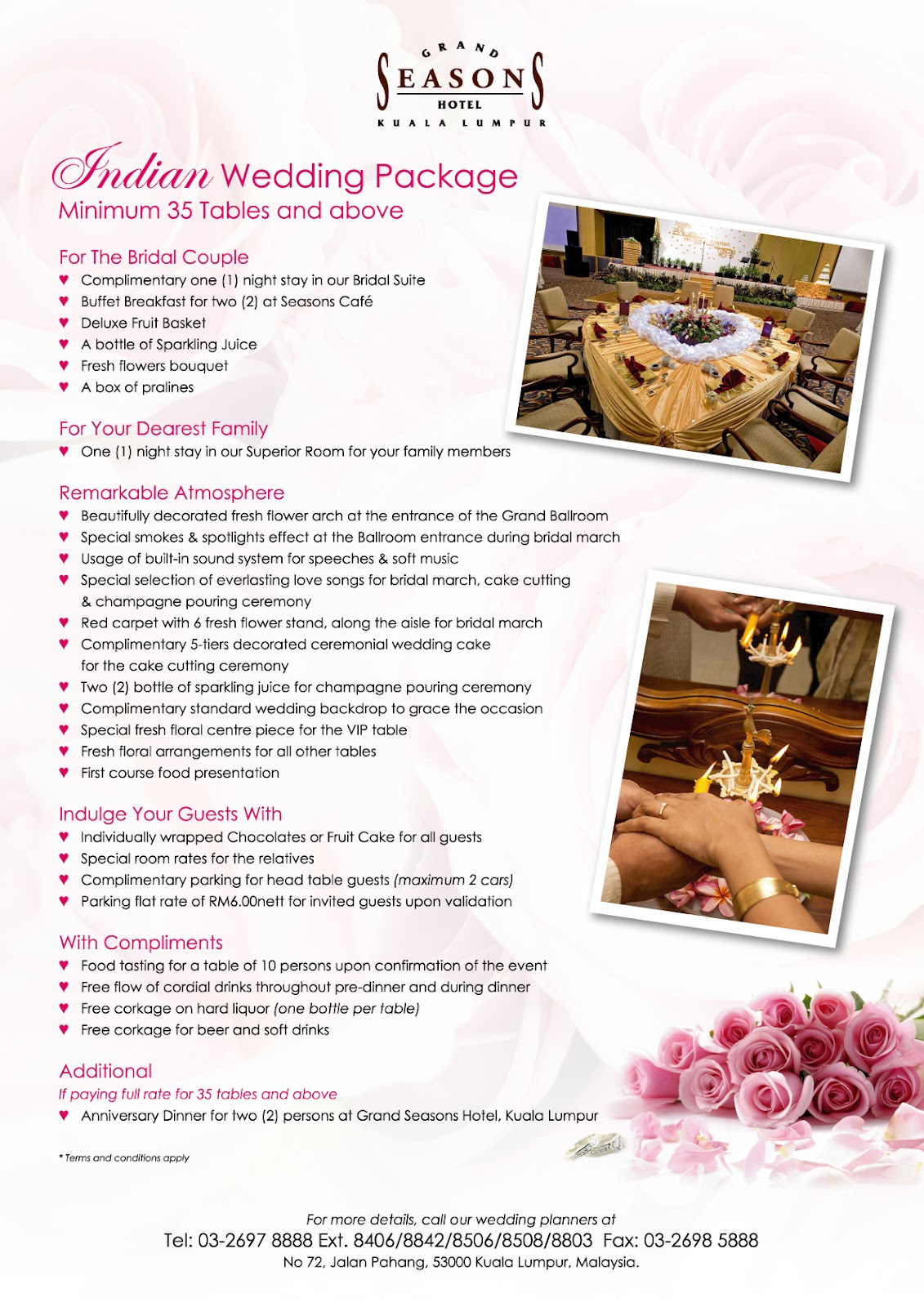 Hotels That Have Wedding Packages Newatvs Info