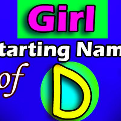 Modern baby girl name d