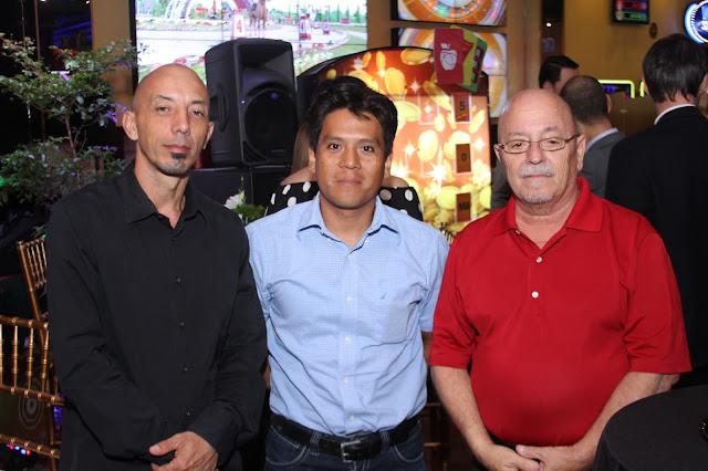 Pablo Gomez, Oscar García y Eduardo Núñez
