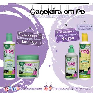 Linha De Babosa Tô De Cacho - Salon Line (Shampoo e Máscara Low Poo), (Gel e Condicionador liberados para No Poo)