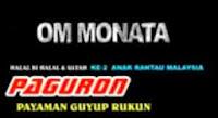 Album Monata Live Paguron 2014