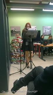 Foto della presentazione del libro la Lingua dei Santi di Alessandra Guigoni
