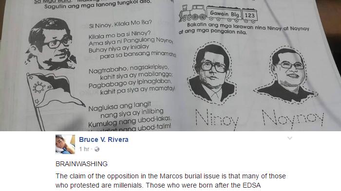 Netizen Binomba Ang Nakasulat Sa TextBook Tungkol sa Mga Aquino; Brainwash Daw Ito