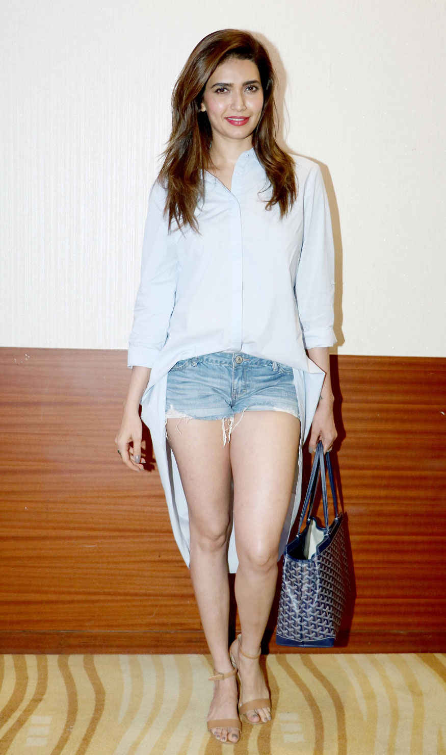 Karishma Tanna Poses for Screening of short film Parineeti Hosted by Playground Digital Cinema
