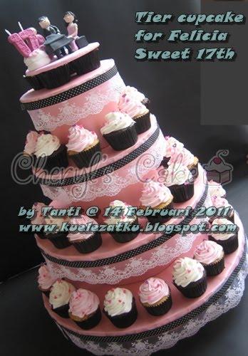 Kue Ulang Tahun Anak Cupcake Birthday Cake Sweet 17th