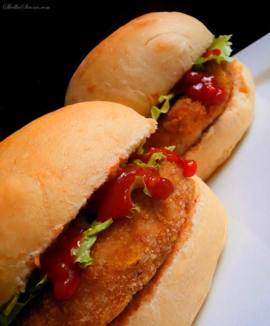 Domowe Pikantne Kurczakburgery jak z McDonald's - Przepis - Słodka Strona