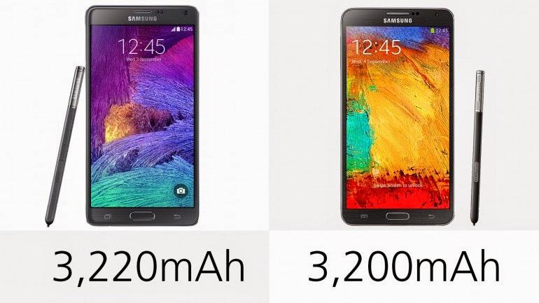 Samsung Galaxy Note 4 vs  Galaxy Note 3 | s!non