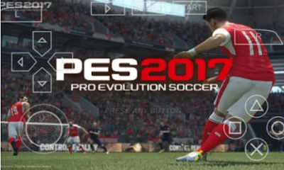 Game PES 2017 PPSSPP ISO For Android