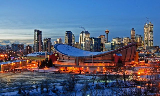 Estádio Pengrowth Saddledome em Calgary