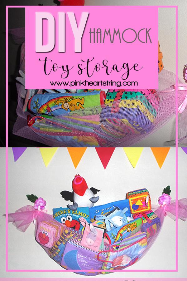 DIY Hammock Toy Storage