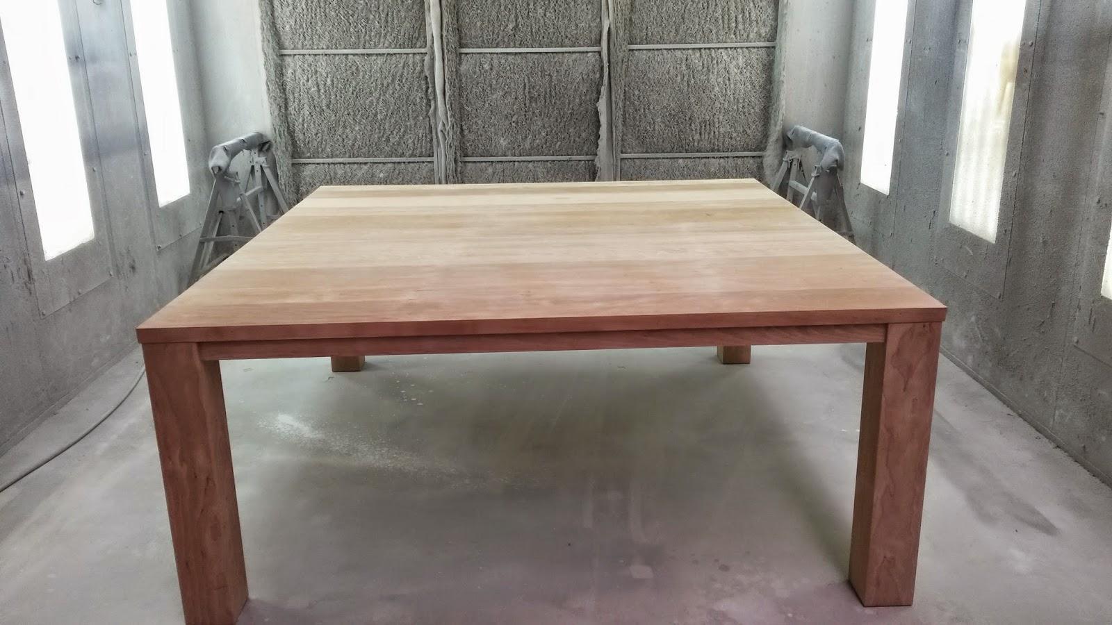 renovatie van tafel