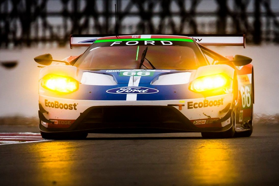 Todays Qualifying Session For The  Hours Of Silverstone Produced An Encouraging Result For The Ford Chip Ganassi Racing Team The  Ford Gt Took Third