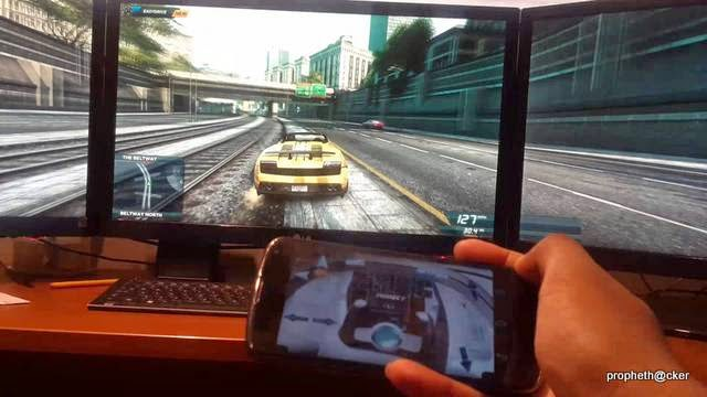 Control and Play Your PC Game Via a Android Phone with Monect