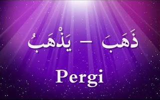 Bahasa Arab Kata Kerja (fi'il) Lengkap