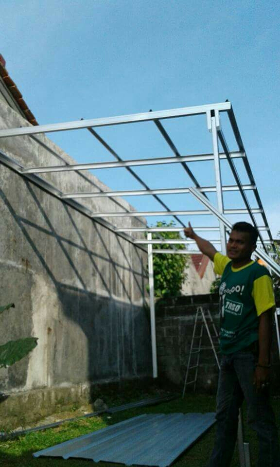 Bajaringan Bogor,Kanopi Bogor,Renovasi Rumah - ABDITRASS