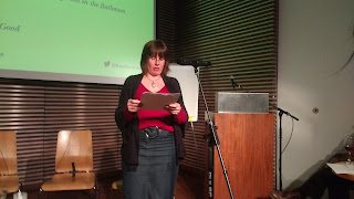 Emma Howell reading from Thrift: A Love Story