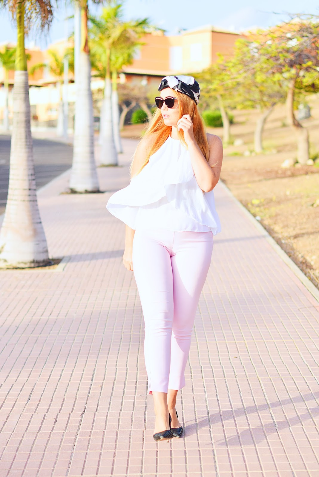 nery hdez, turban, chanel, optical h, rosa cuarzo,