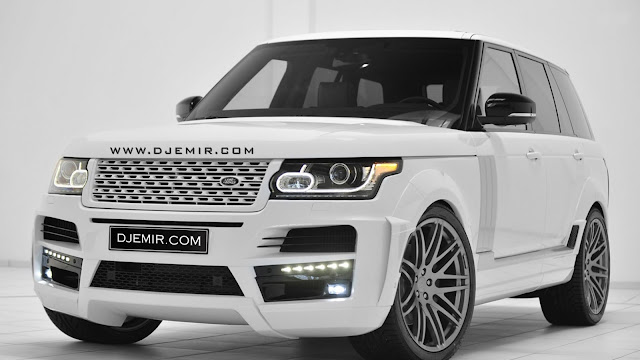 White 2016 Land Rover Range Rover DJ Emir Edition