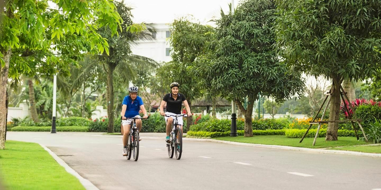 Quận Long Biên là nơi sống lý tưởng với không khí trong lành.