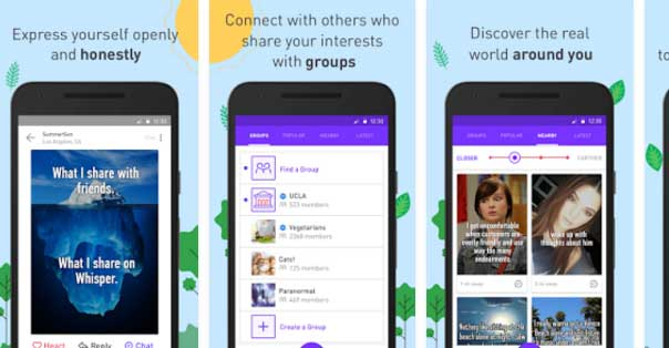 5 apps like yik yak - Free anonymous social media apps for
