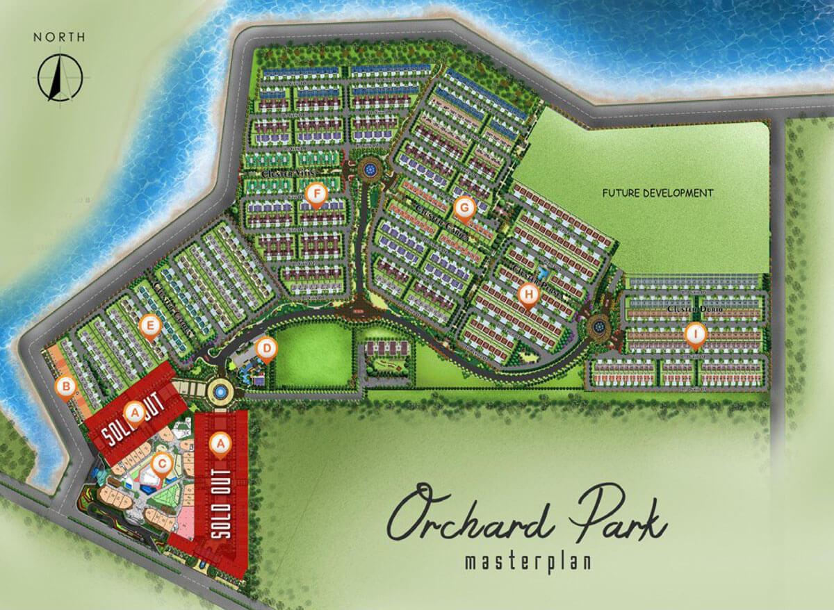 Master Plan Orchard Park Batam