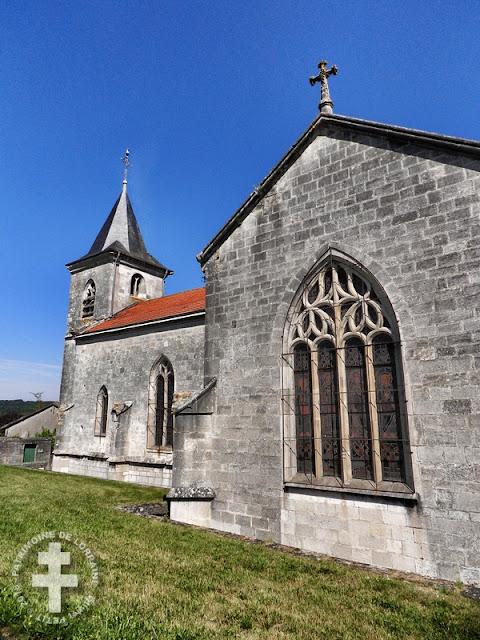 VADONVILLE (55) - Eglise de la Nativité de la Vierge (XVe-XXe siècle)