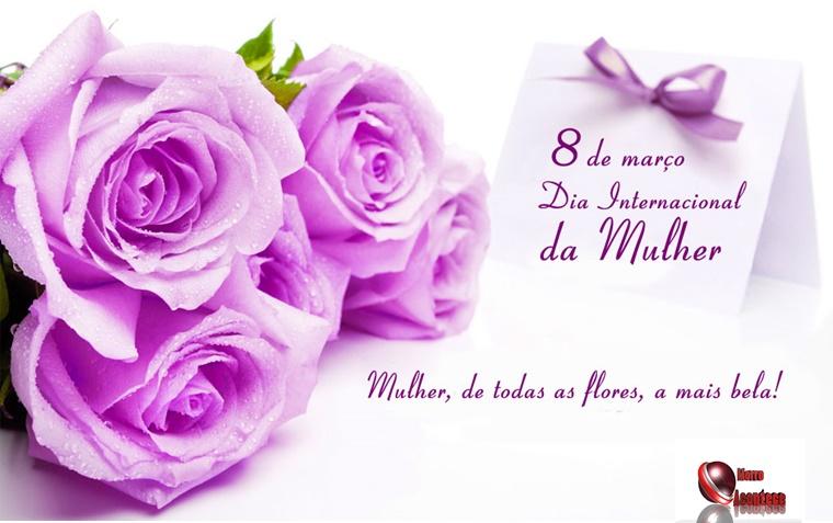Parabéns a Todas as Mulheres Pelo seu Dia