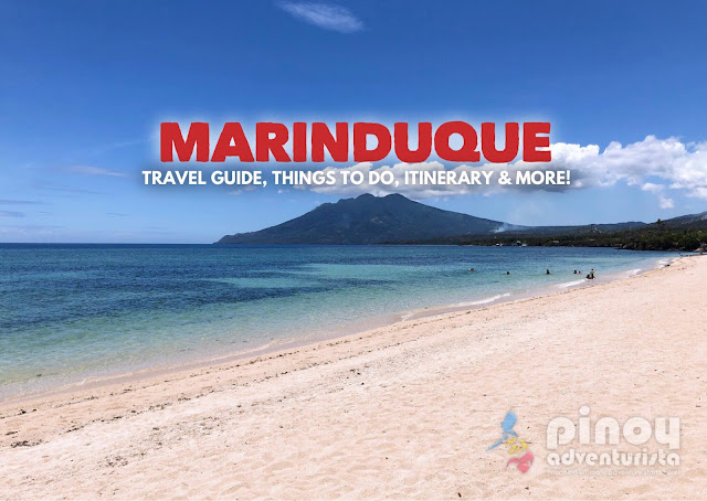 Marinduque Travel Guide Blog 2019 with sample Marinduque itinerary and list of top things to do in Marinduque