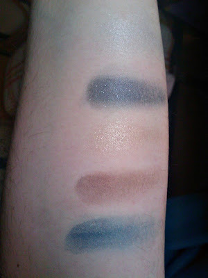 swatches sombras catrice