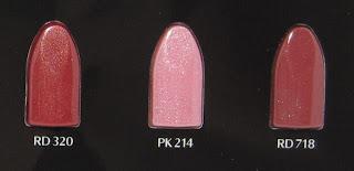 [Swatches] Shiseido Shimmering Rouge – Die neuen Nuancen (Teil 2)