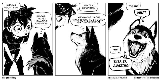 amusing comic about a dog