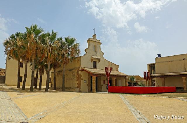 Capilla del castillo de Santa Catalina de Cádiz