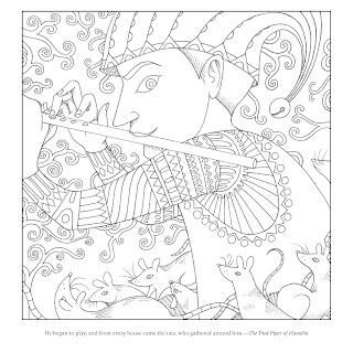 SurLaLune Fairy Tales Blog: Coloring Book Week: A Brothers