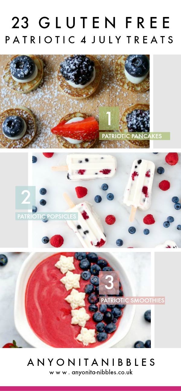 Gluten-free 4th July treats