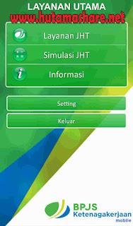 Login BPJS Ketenagakerjaan di Handphone