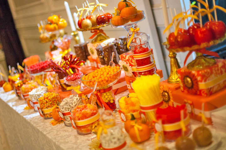Creating The Perfect Candy Buffet For Fall