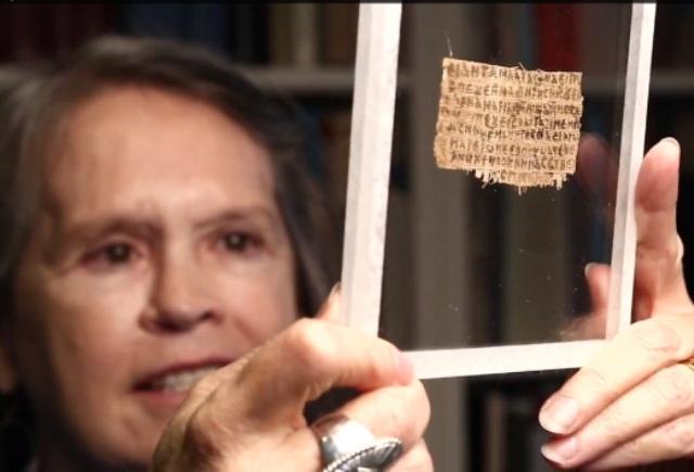 Papiro que menciona que Jesús tuvo una esposa