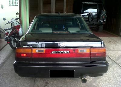 Eksterior Honda Accord Prestige Facelift