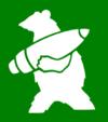 WW2 emblem of 22nd Artillery Supply company of 2nd Polish Corps - Wojtek the Bear