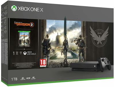 Xbox One X 1 TB + The Division 2