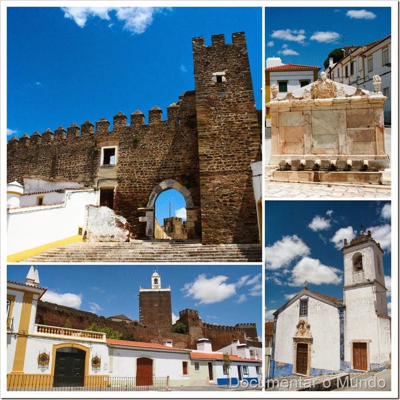 Fonte Monumental; Castelo do Alandroal; Igreja da Misericórdia; Alandroal