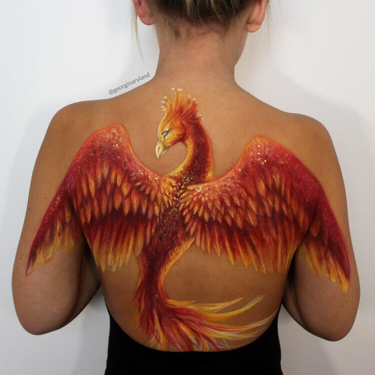 05-Phoenix-Georgina-Ryland-Mehron-Makeup-Body-Painting-www-designstack-co