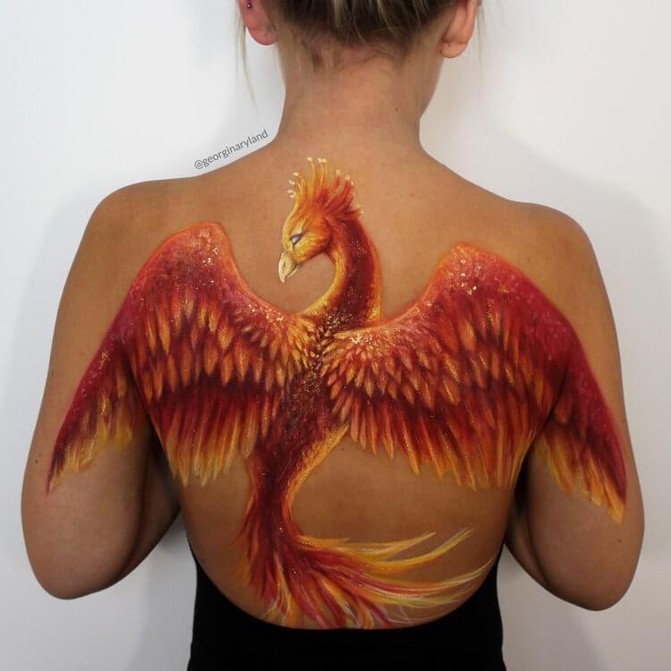 05-Phoenix-Georgina-Ryland-Mehron-Makeup-Body-Painting-www-designstack-co