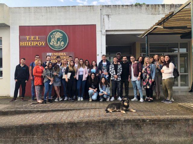 Εκπαιδευτική επίσκεψη φοιτητών του ΤΕΙ Ηγουμενίτσας στο ξενοδοχείο «Sivota Diamond Spa Resort»