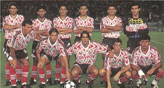 Camiseta, River, River Plate, Suplente, 1994, Sanyo,