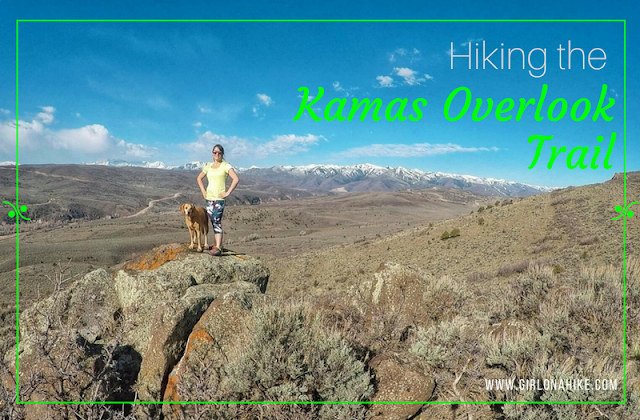 Hiking to the Kamas Overlook Trail, Hiking in the Uintas